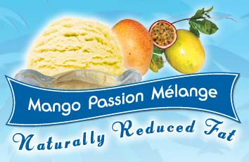 Mango Passion Melange Ice Cream