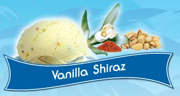 Vanilla Shiraz Ice Cream